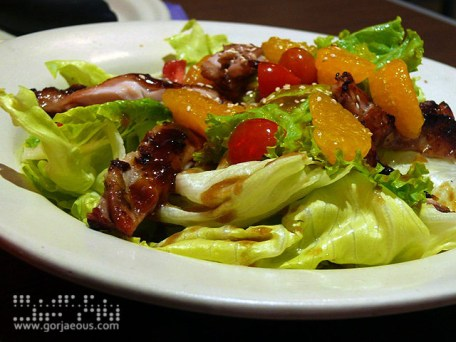 Chicken Teriyaki Salad