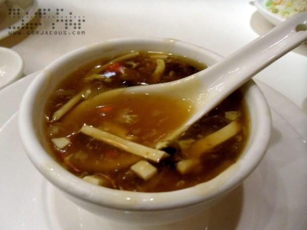 Sichuan Hot and Sour Soup at TAO YUAN Restaurant