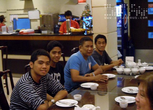 Joco, Kim, Tito Bong, and Kuya Louie