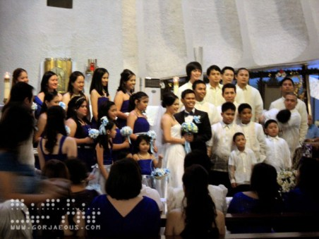 The Newlyweds with The Entourage
