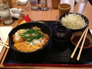 Original Katsudon Set at Yabu: The House of Katsu, SM Mall of Asia