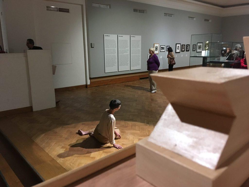 Performance în Sala Muzelor