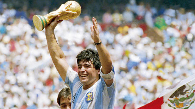 Football icon Diageo Maradona dies at age 60