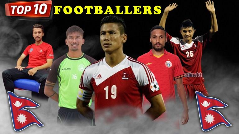 Top 10 Best Footballers of Nepal [ 2011 to 2020]