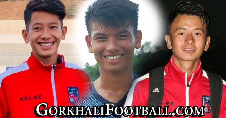 Nepal's youngster footballers Ajay Chaudhary, Mohit Gurung & Bipin Magar's passion for football
