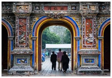 City gate in Hue