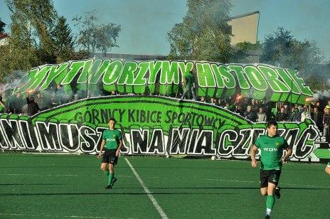 GÓRNIK 1979 ŁĘCZNA - Tur Milejów 2012r.