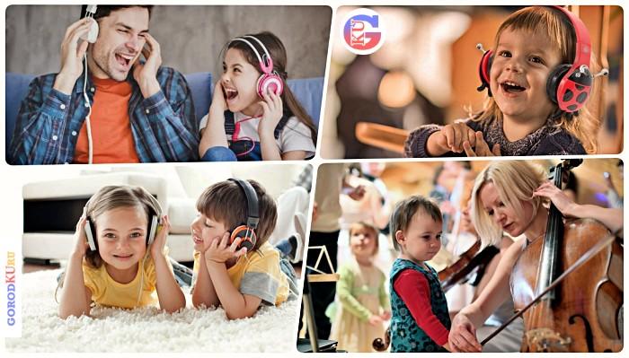 Музыка способствует развитию памяти и музыкального слуха у ребенка в дошкольном возрасте