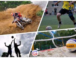 Спортивные соревнования в День города Каменска-Уральского