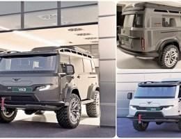 УАЗ презентовал новую версию пассажирской «Буханки»