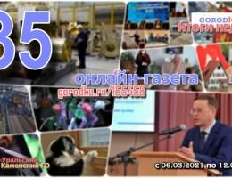 Итоги №35 (06 – 12 марта 2021)