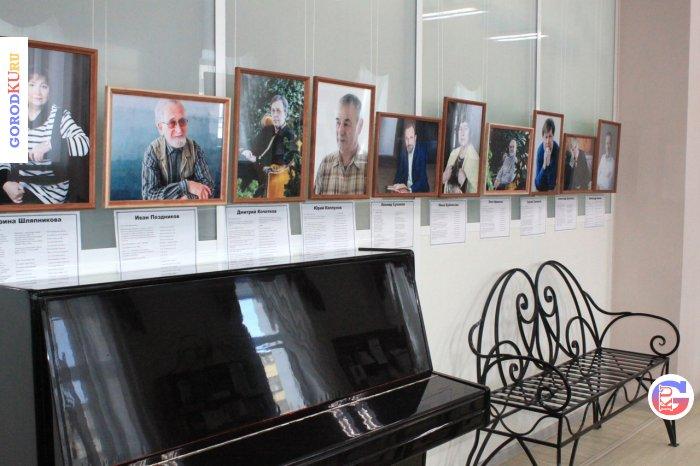 24 фотопортрета каменских поэтов можно увидеть в библиотеке им. А.С. Пушкина