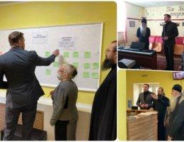 В центре помощи семье «Ковчег» обсудили вопросы ремонта муниципального помещения