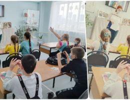Участники клуба выходного дня научились пластилинографике
