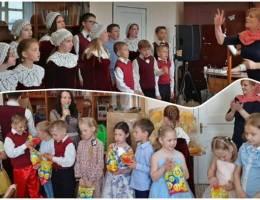 Литургия с участием детско-юношеского хора «Елисаветинский» в Каменске-Уральском