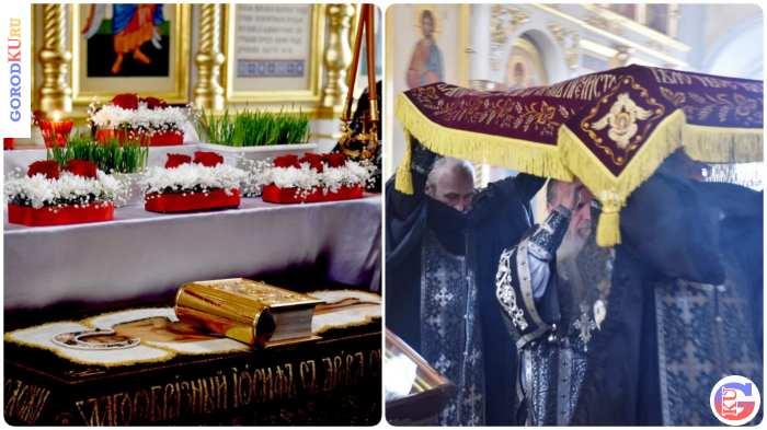 Совершен чин выноса Плащаницы в Великую Пятницу в Каменске-Уральском