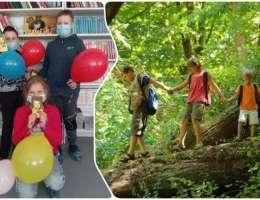 Поход в лето тропами лесных приключений вместе с библиотекой №12