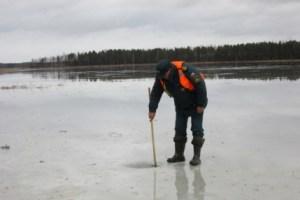 Замеры толщины льда