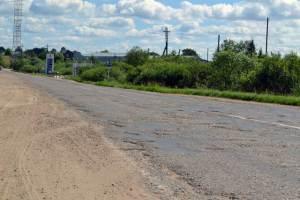 Дорога Р-89 в окрестностях Осташкова