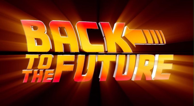 Back to The Future – title sequence