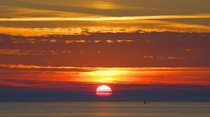 sunset togean