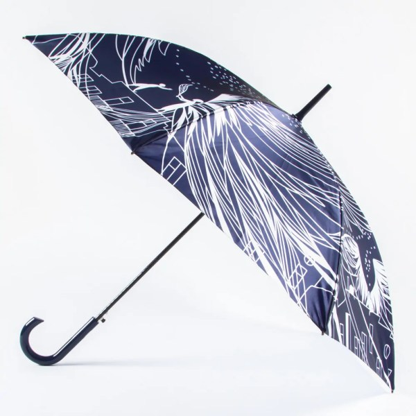 Зонт Женский Большой полуавтомат [618180-2]
