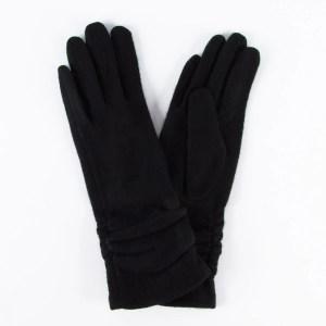 Перчатки женские цвет черный [LG02-01]