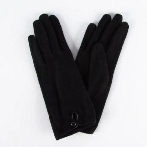 Перчатки женские цвет черный [LG65-01]