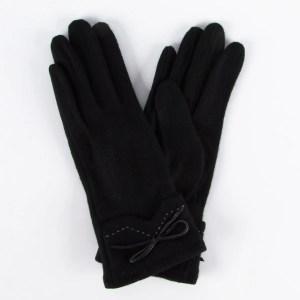 Перчатки женские цвет черный [LG68-01]