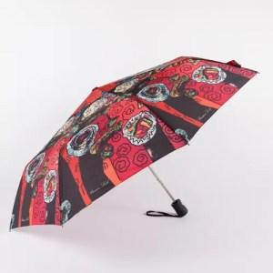 Зонт женский Классический полуавтомат [43616-2]
