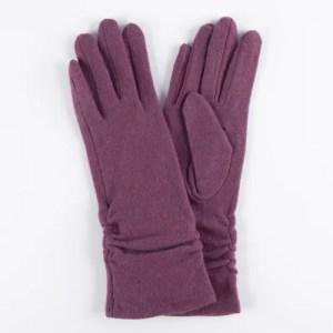 Перчатки женские цвет сиреневый [LG02-09]