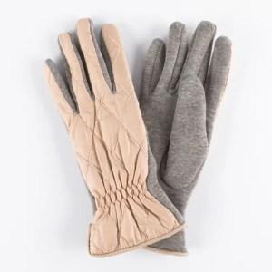 Перчатки женские цвет бежевый [LG14-12]