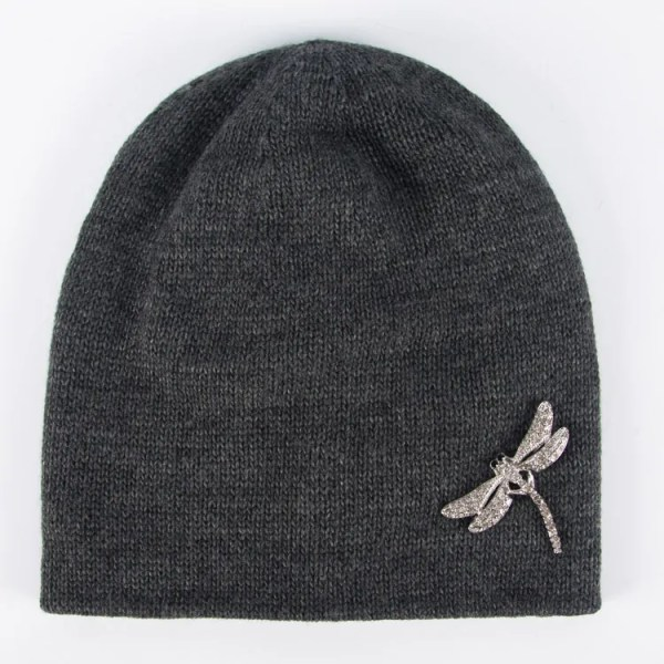 Вязаная шапка женская [WF02-08B]