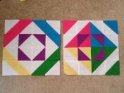 Vice Versa Block of the Month BOM Gen X Quilters GenXQuilters Quilt Blanket Square in a Square