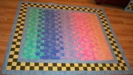 Robert Kaufman Fusion fusions fabric zip pattern pastel colors