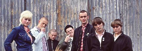 Versión fílmica de una pandilla de original skinhead en el Nottingham de 1983