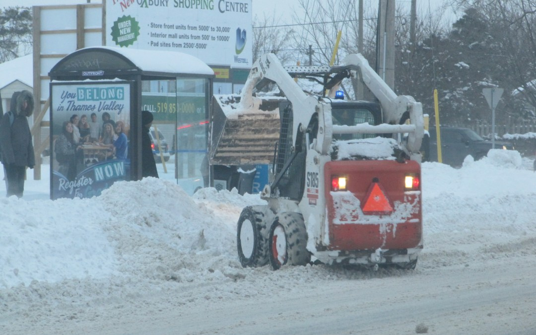 SIDEWALK SNOW PLOW DEATH IN LONDON RAISES THE QUESTION OF THEIR SAFETY