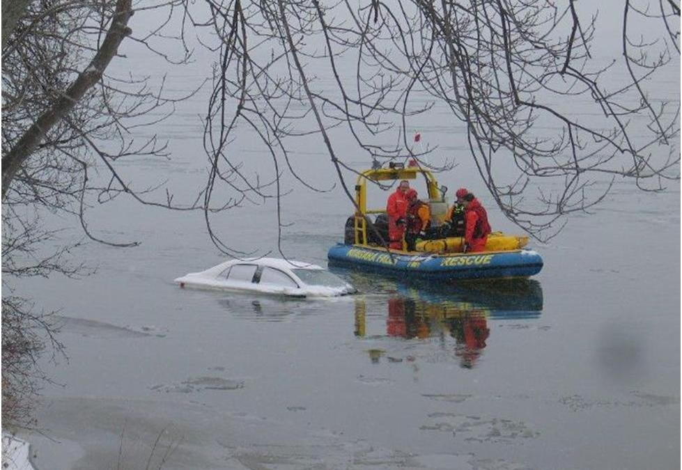Car Found In Niagara River But No News About Condition of Driver