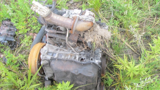 Further Details of the Disintegrated Vehicle Collision That Did Not Officially Happen