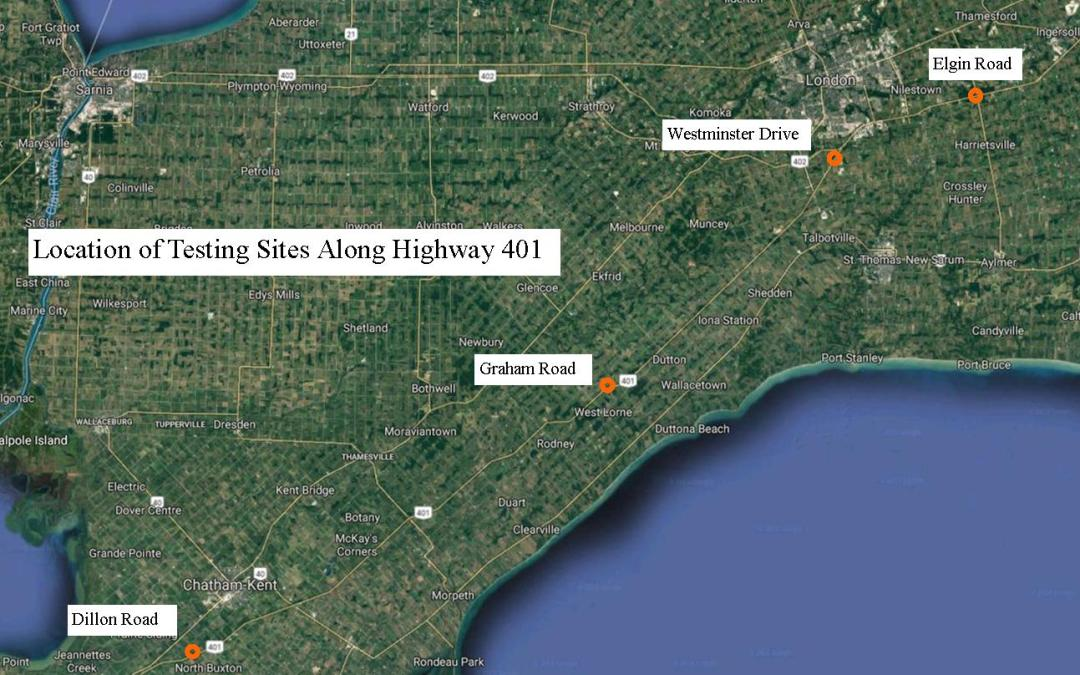 Highway 401 Safety Issues – Gaps Between Vehicles