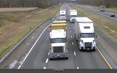 Highway 401 Speeds Reduced by Interference of Speed-Governed Heavy Trucks