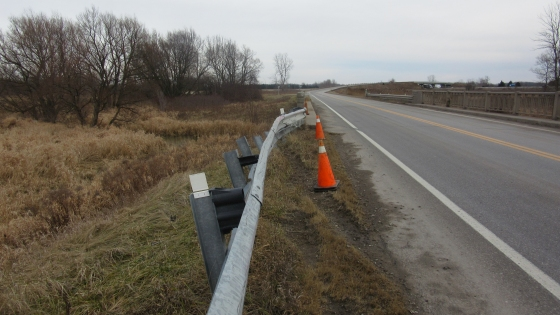 Guardrail System Installed & Functioned Properly Yet Fatality Occurred