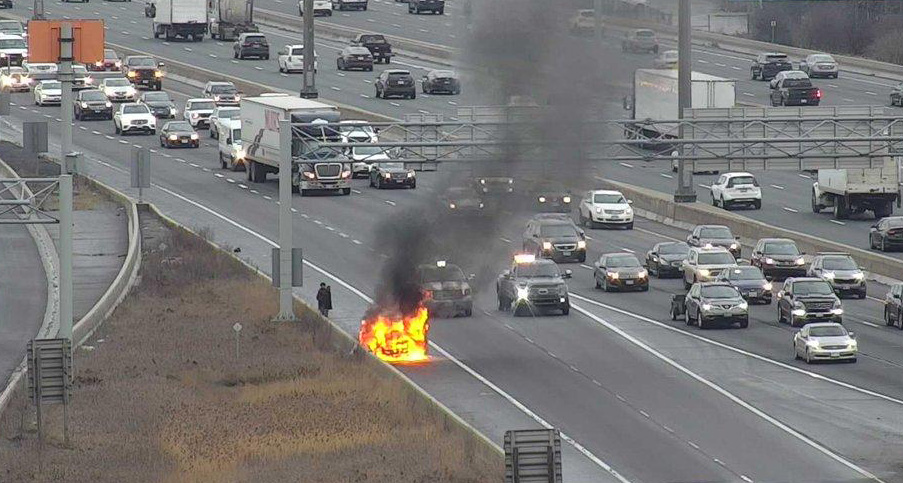 Body Falls on Van: Van Catches Fire – Does That Not Require Further Explanation?