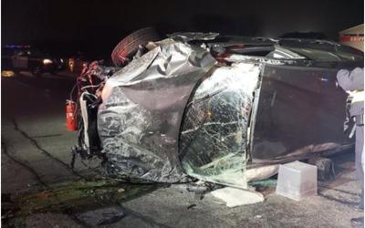 Hwy 404 Fatal Impact of Bridge Pillar Should Not Occur