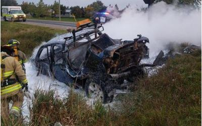 Silence About Post-Collision Fires