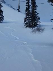 Mission Ridge - my tracks :)