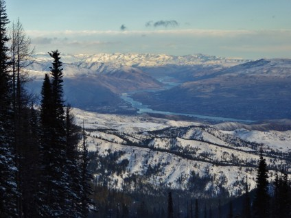 Mission Ridge - view of Columbia River