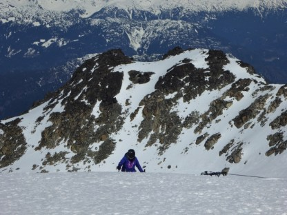 Blackcomb Glacier hike up