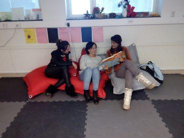jedna z sal - przestrzeń do zabawy i socjalizacji