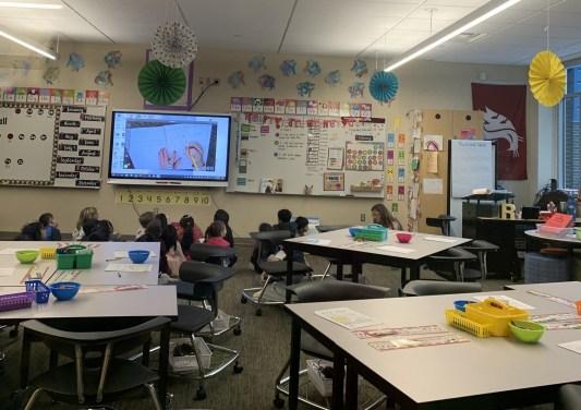 Wilburton Elementary School - przestrzeń w klasie